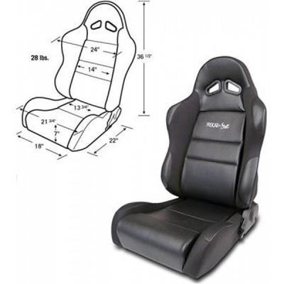 Mustang Bucket Seat, Sportsman Series, Right