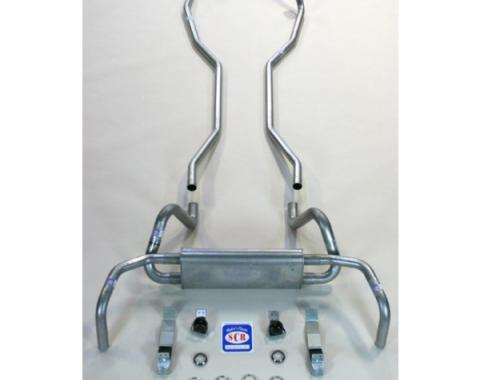 "Camaro Original Style Exhaust System Kit, 2"", 1969"