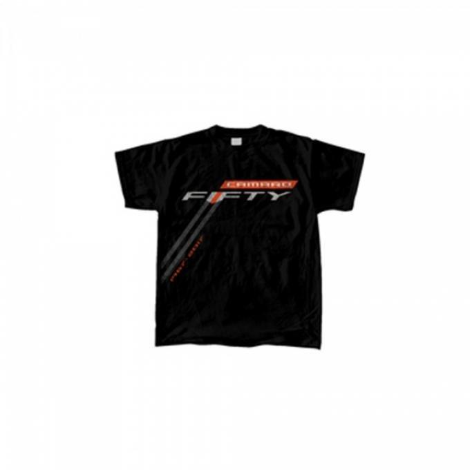 Camaro Fifty Stripe Shirt - Black