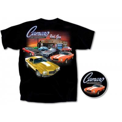 Camaro Second Gen Garage T-Shirt