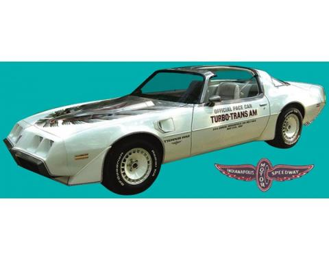 Firebird Decal Set, Silver, Trans Am, Turbo, Indy Pace Car, Ultimate Kit, 1980