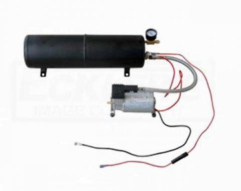 Heavy Duty Air Compressor And Tank Kit For Horns