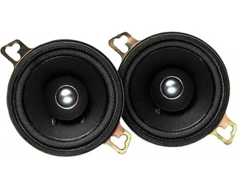 "Camaro Speakers, Kenwood, 3.5"" Dash, 40 Watt, 1967-1981"