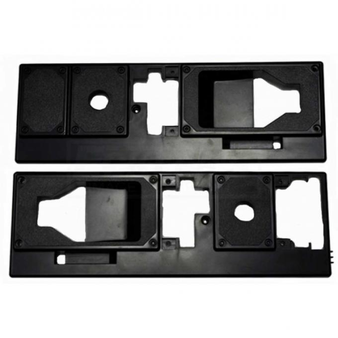 Camaro Interior Door Handle Trim Panels, Pair, 1982-1992