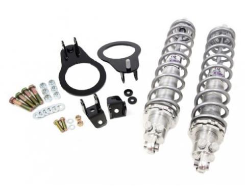 UMI Performance Rear CoilOver Kit, Double Adj Shocks, Bolt-In 110 lb Spgs | 2046-110 Camaro 1982-02