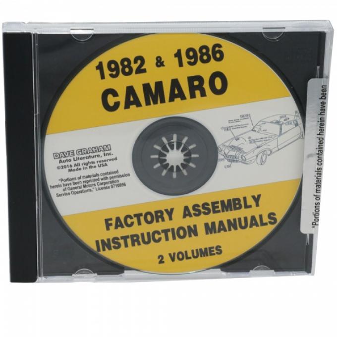 Assembly Manuals, CD-ROM, 1982 And 1986