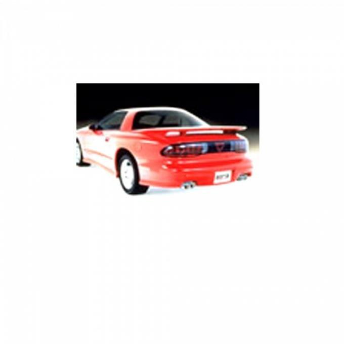 Firebird Borla Exhaust System, Dual Cat Back Adjustable, V8, 1995-1997