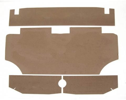Camaro Trunk Upholstery Panel Kit, 1967-1969