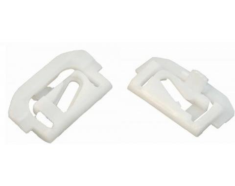 Camaro Rear Glass Molding Clip Set, Without Vinyl Top, 1975-1979