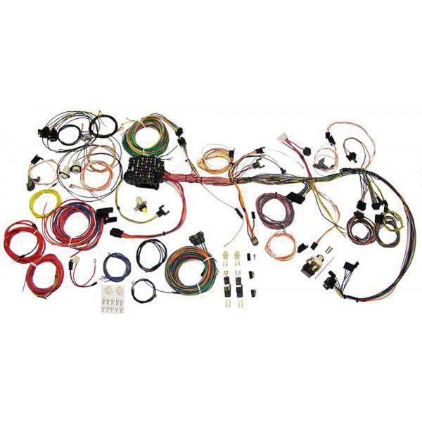 Camaro Wiring Harness Update Kit  American Autowire  1970