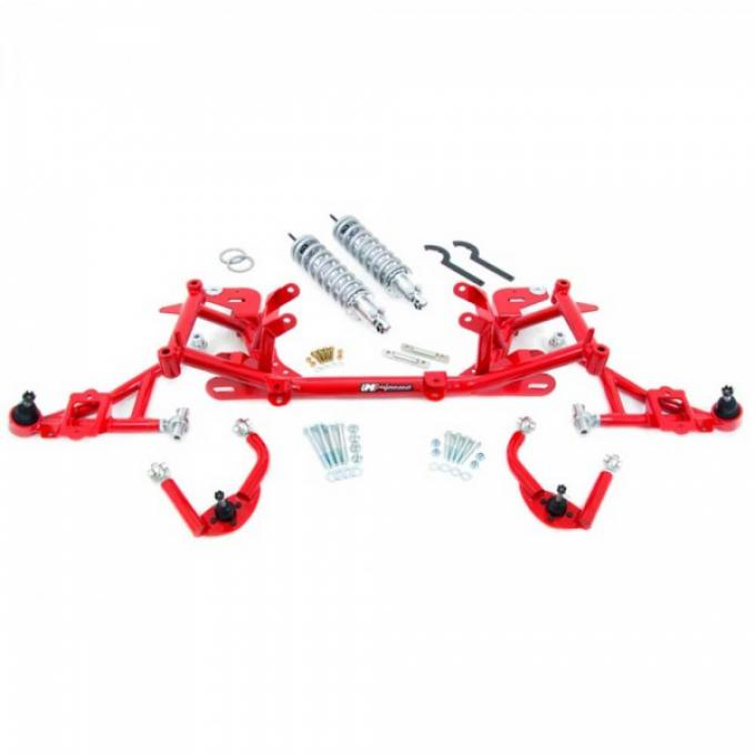 UMI Front Suspension Package, Stage 5 With Chrome Moly A-Arms, LS1, 1998-2002