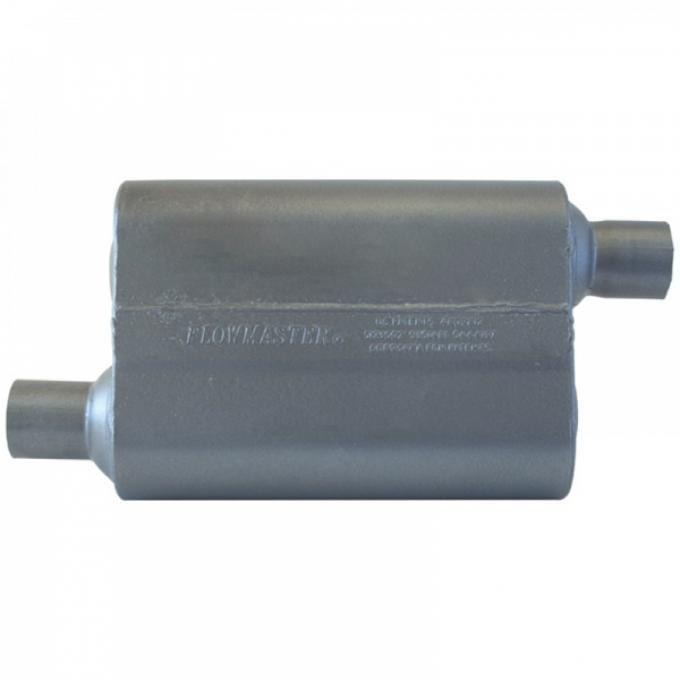 Camaro Exhaust Muffler, Super 44 Series, Stainless Steel, V6, 2010-2014