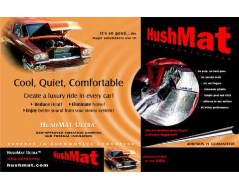 Hushmat Ultra Insulation, Roof, For El Camino & GMC Caballero, 1978-1987