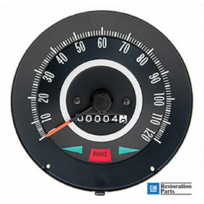 Firebird Instrument Carrier Speedometer, 1967