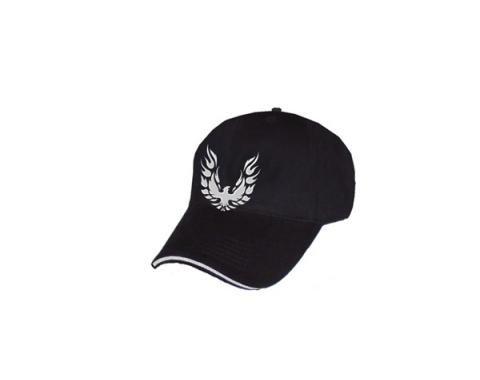 Firebird Hat, Black With Liquid Metal Logo