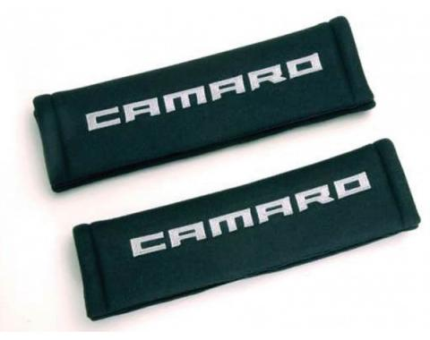 Camaro Seat Belt Cushions, Black