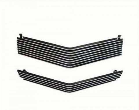 Camaro Grille, Billet, Upper & Lower, 1980-1981