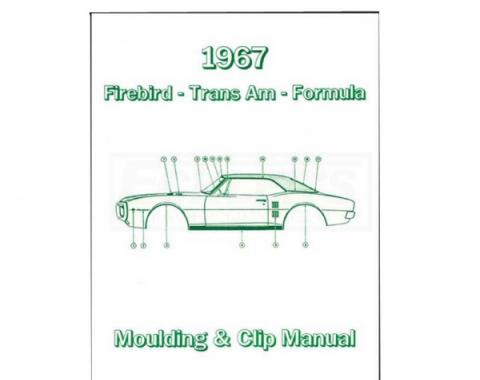 Firebird Molding And Clip Manual, 1967