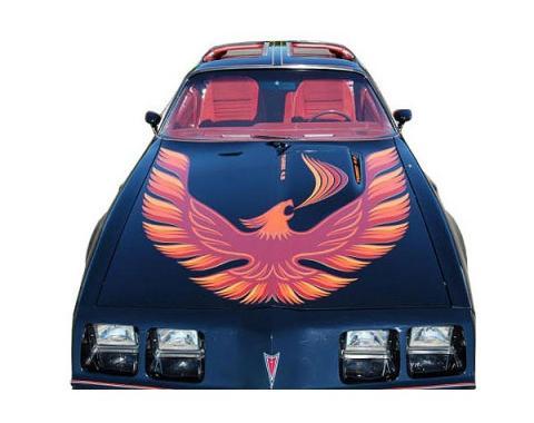 Firebird Decal Set, Five Color, Trans Am Turbo, 1980