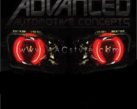 Camaro Headlight Halo Kit, SMD, 2010-2013