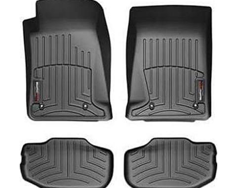 Camaro Front And Rear FloorLiner™, DigitalFit®, WeatherTech®, 2010-2014