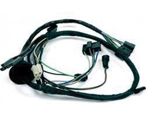Firebird Wiring Harness, Air Conditioning, Engine Side, With Chevy V8, 1977-1978