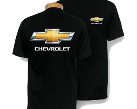 Chevy Bowtie T-Shirt, Black