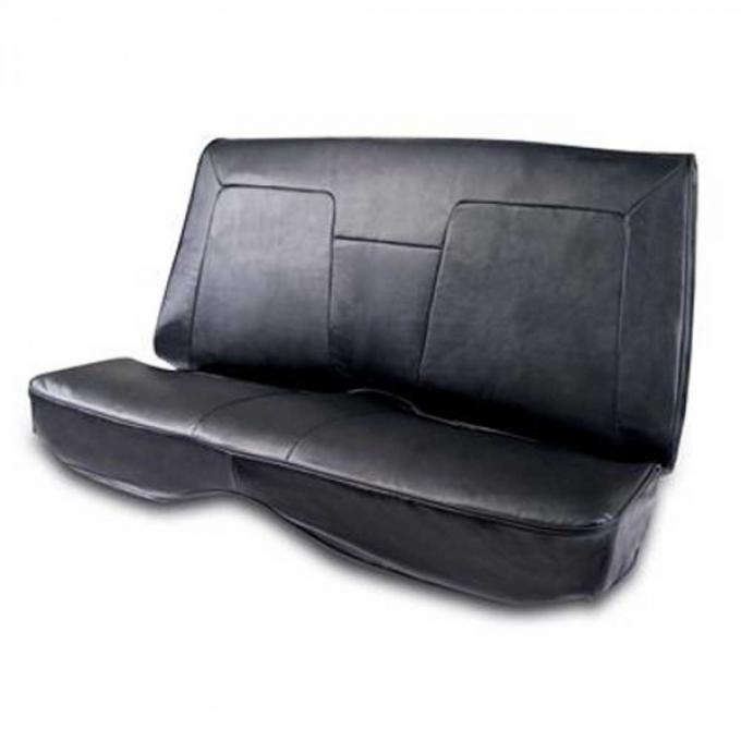 Camaro Procar Rear Seat Cover, Elite, Coupe And Convertible With Fold Down Rear Seat, 1968-1969