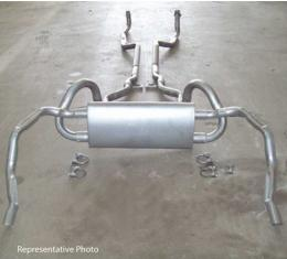 Exhaust System, Z28, Original Style,With Polished Tips, 1969