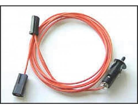 Firebird Glove Box Light Wiring Harness, 1980-1981