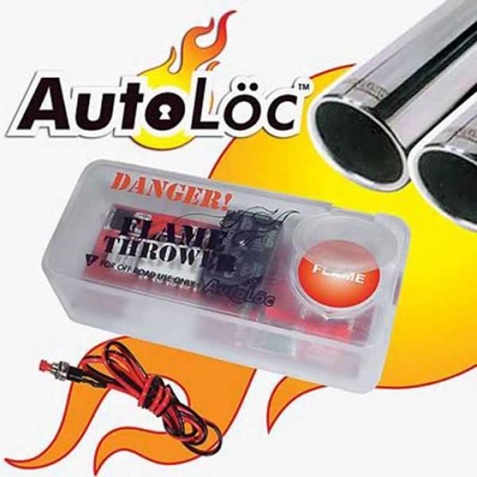Camaro Autoloc Flame Thrower Kit, Dual Exhaust, 1967-2014