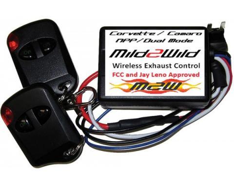 "Camaro Exhaust Control Kit, ""Mild2Wild"", ZL1, 2010-2015"