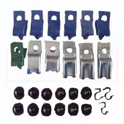 Camaro Fuel Line Clips, 3/8, Without Return, 1982-1992