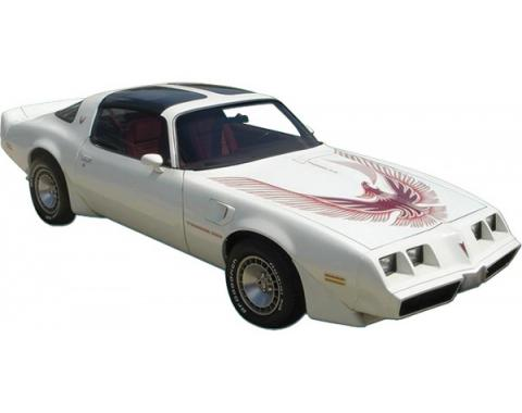 Firebird Decal Set, Two Color, Trans Am Turbo, 1981
