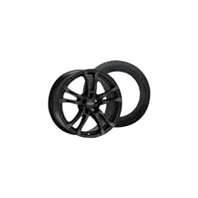 Camaro Anzio Turn Black Wheel Rim and Goodyear Eagle Ultra Grip GW-3 Tire Kit, 2010-2015