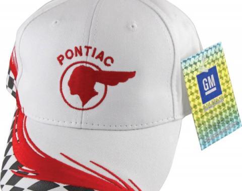 Pontiac Chief Checkered Hat