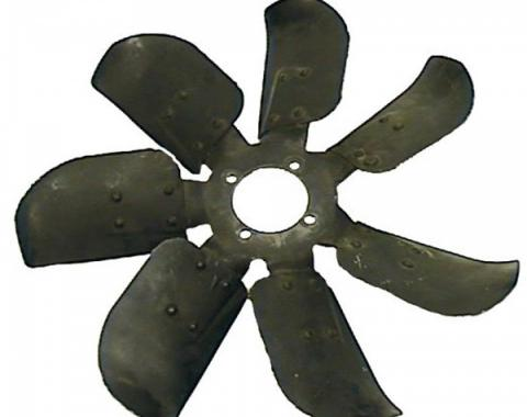 Camaro Engine Cooling Fan, 7-Blade, Date Coded, For Use With Fan Clutch, 1969