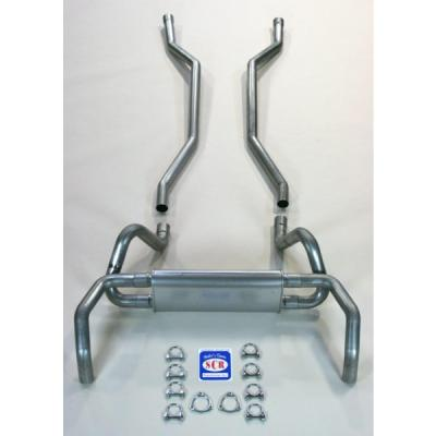 """Camaro Original Style Exhaust System, For Small Block With Headers, 2-1/2"""", 1967-1969"""