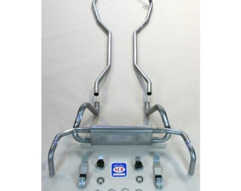 "Camaro Original Style Exhaust System Kit, 2"", 1967-1968"