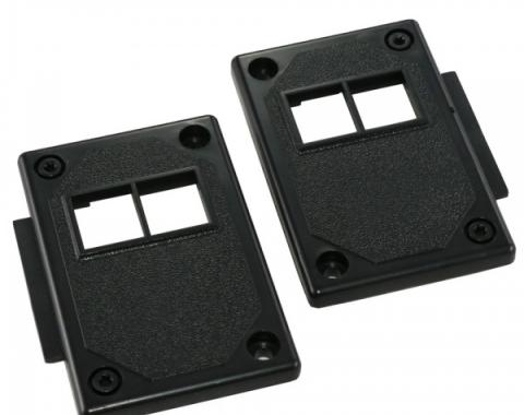 Camaro Door Lock Switch Trim Panel, With Power Door Locks, 1982-1992