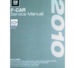 Camaro Service Shop Manual, 2010