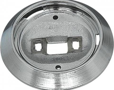 Camaro Dome Light Base With Wiring Terminals, 1970-1981