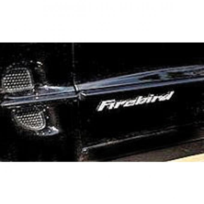 Firebird, Decal, Raised Door Letters 1998-2002