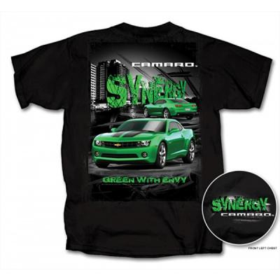 Camaro T-Shirt, Green With Envy