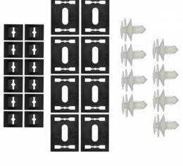 Door Panel Clips, Lower, Large, 1972-1977