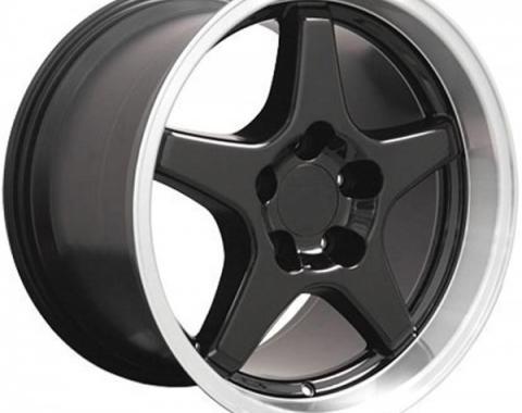 Firebird 17X11 ZR1 Style Deep Dish Wheel, Black, 1993-2002