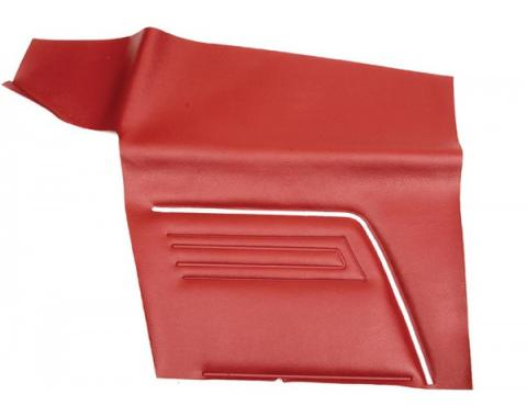Distinctive Industries 1969 Camaro Standard Convertible Rear Quarter Panels, Unassembled 073783