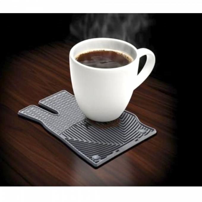 Drink Coaster, Black, WeatherTech®