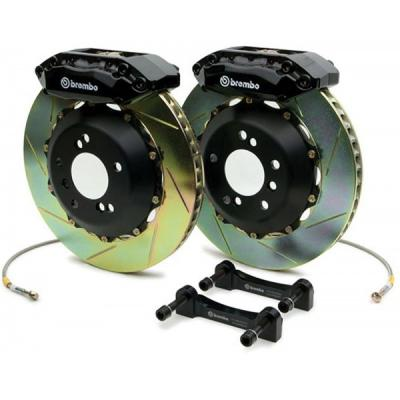 Camaro Brake Kit, Brembo GT, Rear, Slotted, V6, 2010-2013