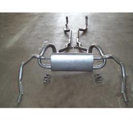 Exhaust System, Z28, Original Style, 1969